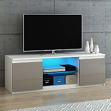 Panana Modern 120cm TV Stand Unit Cabinet with LED