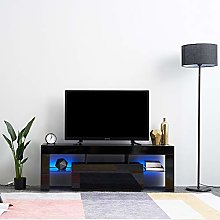 Panana Modern 130cm TV Stand Unit Cabinet with LED