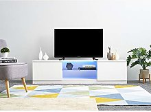 Panana Modern 160cm TV Stand Unit Cabinet with LED
