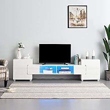 Panana Modern 230cm TV Stand Unit Cabinet with LED