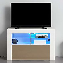 Panana Modern TV Stand Unit Cabinet with LED
