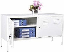 Panana Office Storage Cupboard Desk Height 2 Door