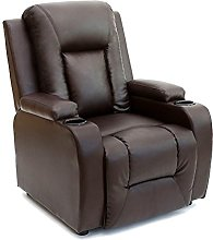 Panana Real Leather Recliner Armchair Lounge Chair