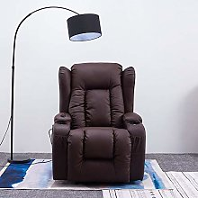 Panana Recliner Armchair in Real Bonded Leather