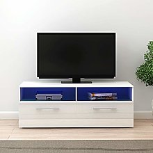 Panana RGB LED TV Stand Cabinet Unit Modern 100cm