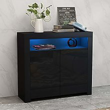 Panana Sideboard Storage Cabinet with RGB