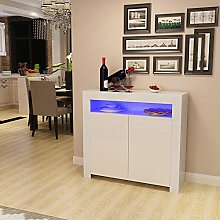 Panana Sideboard Storage Two Door Cabinet with RGB