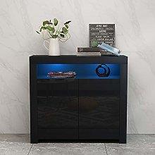 panana Sideboards Two Door Cabinet Storage Shelf
