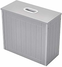Panana Small Laundry Cabinet Wooden Storage Box