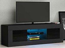Panana TV Stand Cabinet Unit Modern 125cm High