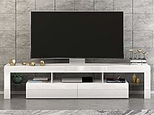 Panana TV Stand Cabinet Unit RGB LED Lighted 160cm
