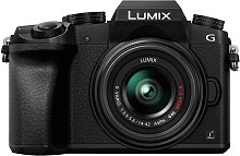 Panasonic Lumix G7 Mirrorless Camera, 14-42mm Lens