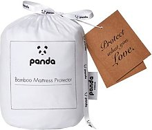 Panda Bamboo King Mattress Protector