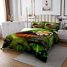 Panda Coverlet Set Cute Animal Quilted Bedspread