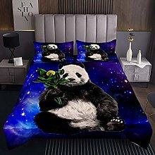 Panda Coverlet Set for Children Kids Boys Girls
