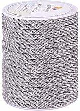 PandaHall 18 Yards(16.4m) 5mm Twisted Cord Trim