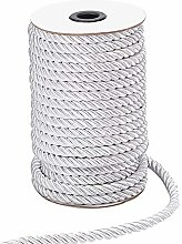 PandaHall 8mm 20 Yards 3 Braided Cord Thread