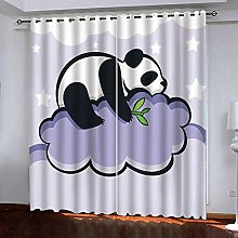 PANDAWDD Blackout Curtains Kids Room For Boys