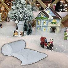 Pandoras Upholstery 10 Metre Roll Of Fake Snow -