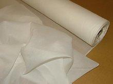 Pandoras Upholstery 10 Mts White Cotton Muslin