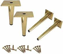 Panduo Furniture feet Golden Sofa Legs Metal