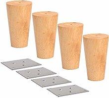 Panduo Furniture feet Round Solid Wood Furniture