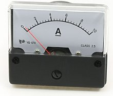 Panel Mount DC 0-10A Current Amperemeter Measuring