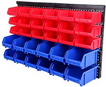 Paneltech 32 Pcs Stackable Storage Boxes