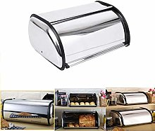 Paneltech Roll Top Bread Bin Bread Box Storage Bin