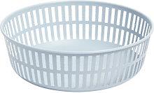 Panier Basket - / Ø 22 cm - Steel by Hay Blue