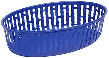 Panier Basket - / 25 x 16 cm - Steel by Hay Blue