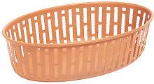 Panier Basket - / 25 x 16 cm - Steel by Hay Orange