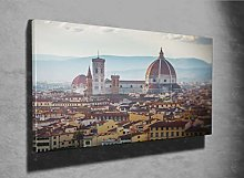 Panorama of Florence Photo Canvas Print (36426929)