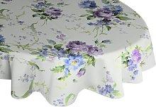 Pansy Tablecloth Fleur De Lis Living Colour: