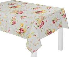 Pansy Tablecloth Fleur De Lis Living Size: 120cm W