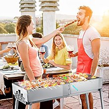 PaNt Foldable Barbecue Grill for 5-15 Persons