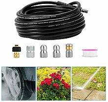 PaNt Home Sewer Jetter Kit,50 Feet Hose Drain Pipe