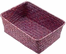 PANZZ Wicker Weave Storage Basket Kitchen Food