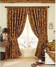 Paoletti Zurich Floral Chenille Jacquard Lined