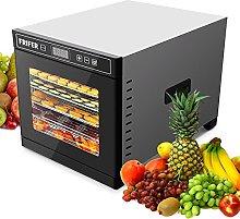 papasbox Stainless Steel 6 Tray Food Dehydrator,