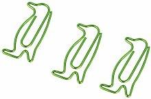 Paper Clips Novelty Penguin Shape Clips for File