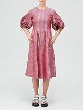 Paper London Orchid Statement Sleeve Midi Dress -