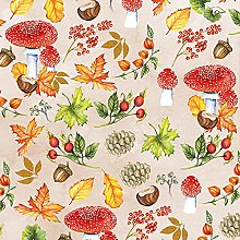 Paper Napkins Autumn Pattern Lunch Party Festival