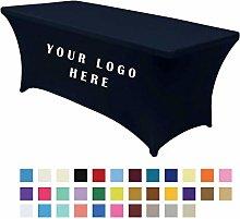 Paphos Stretch Tablecloth Spandex Custom Logo
