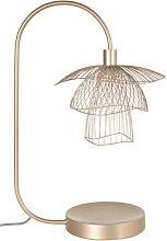 Papillon Table lamp - / H 62 cm by Forestier Beige