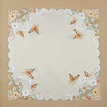 Papillon Table Topper (Orange)