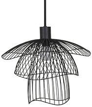 Papillon XS Pendant - / Ø 35 cm by Forestier Black