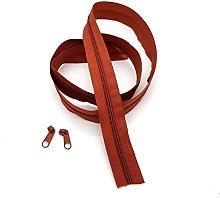Paprika Continuous Zip & Sliders No. 3 Zippers