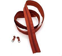 Paprika Continuous Zip & Sliders No. 5 Zippers