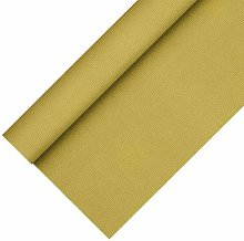 Papstar Tablecloth, Fleece Fabric, Gold, 10 x 10 x